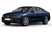 Audi A8l Moonlight Blue Metallic