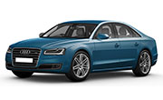 Audi A8l Palace Blue Pearl Effect