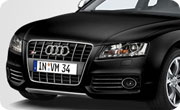 Audi RS5 Panther Black Crystal Effect