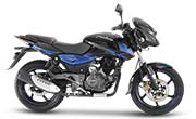 Bajaj Pulsar 150 Twin Disc Black Blue Photo