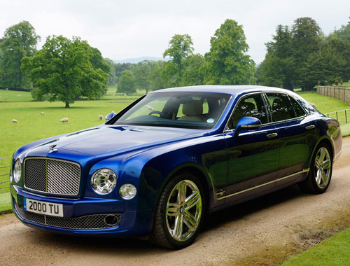 Bentley Mulsanne Exteriors