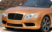 Bentley Mulsanne Sunburst Gold Metallic