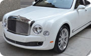 Bentley Mulsanne White Sand Metallic