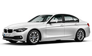 BMW 3 Series Mineral White Metallic