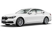 BMW 7 Series Alpine White