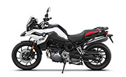BMW F750 GS Light White