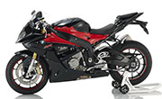 BMW S1000RR Black Strom Metallic Racing Red