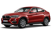 BMW X6 Flamenco Red