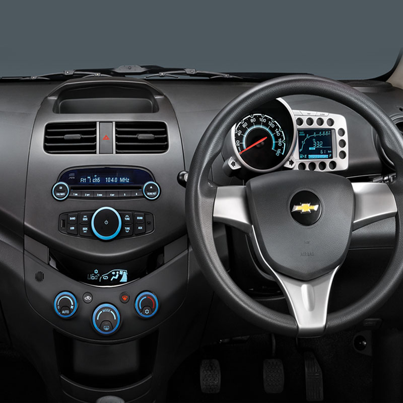 chevrolet beat Interior