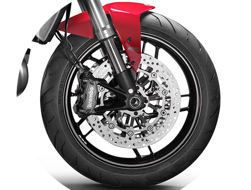 Ducati Monster 1200 Safety