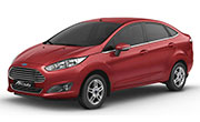 Ford Fiesta Paprika Red