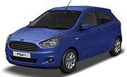 Ford Figo Deep Impact Blue