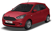 Ford Figo Ruby Red
