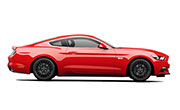 Ford Mustang Race Red