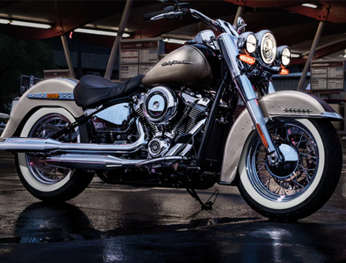 Harley Davidson Softail Deluxe Appearance
