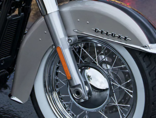 Safety Harley Davidson Softail Deluxe