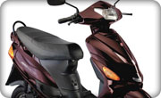 Hero Electric Wave DX Burgundy