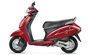 Activa 4G Imperial Red Metallic