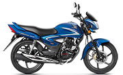 Honda CB Shine Athletic Blue Metallic