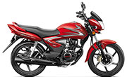 Honda CB Shine Sports Red