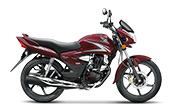 Honda CB Shine Rebel Red Metallic