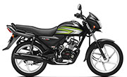Honda CD 110 Dream Black With Green Graphics