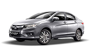 Honda City Alabaster Silver Metallic