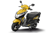 Honda Dio Dazzle Yellow Metallic