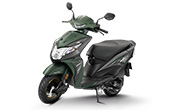 Honda Dio Matte Marshal Green Metallic