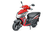 Honda Dio New Sports Red