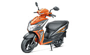 Honda Dio New Matte Vibrant Orange