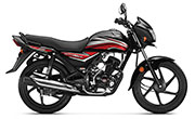 New Honda Dream Neo Black With Red Stripes