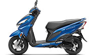 Honda Grazia Matte Marvel Blue Metallic
