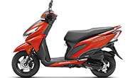 Honda Grazia Neo Orange Metallic