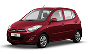 Hyundai I10 Wine Red