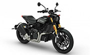 Indian Motorcycle FTR 1200 S Titanium Metallic Over Thunder Black Pearl