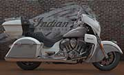 Indian Roadmaster Indian Pearl White Over Star Silver