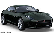 Jaguar F Type British Racing Green Coupe Variant