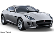 Jaguar F Type Rhodium Silver Coupe Variant
