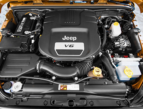 Jeep Compasse Engine