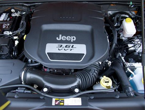 Jeep Wrangler Unlimited Engine