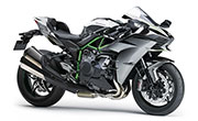 Kawasaki Ninja H2 Chrome Black Finish