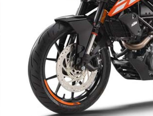 KTM Duke 250 Safety