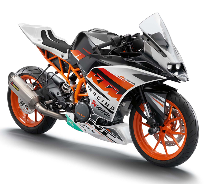 KTM RC Appearance