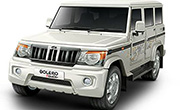 Mahindra Bolero Power Plus Diamond White