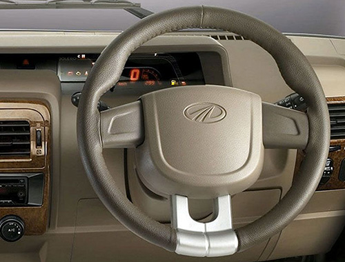 Mahindra Bolero Power Plus interiors