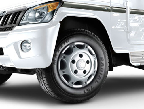 Mahindra Bolero Power Plus Safety