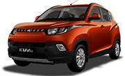Mahindra KUV 100 Fiery Orange