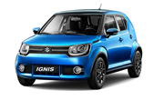 Maruti Ignis Tinsel Blue Midnight Black