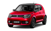 Maruti Ignis Uptown Red Midnight Black